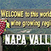Welcome to Napa Valley